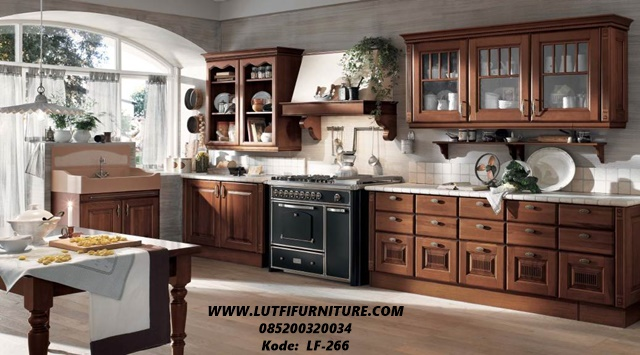 Kitchen Set Klasik Jati Jual Kitchen Set Klasik Jati Minimalis